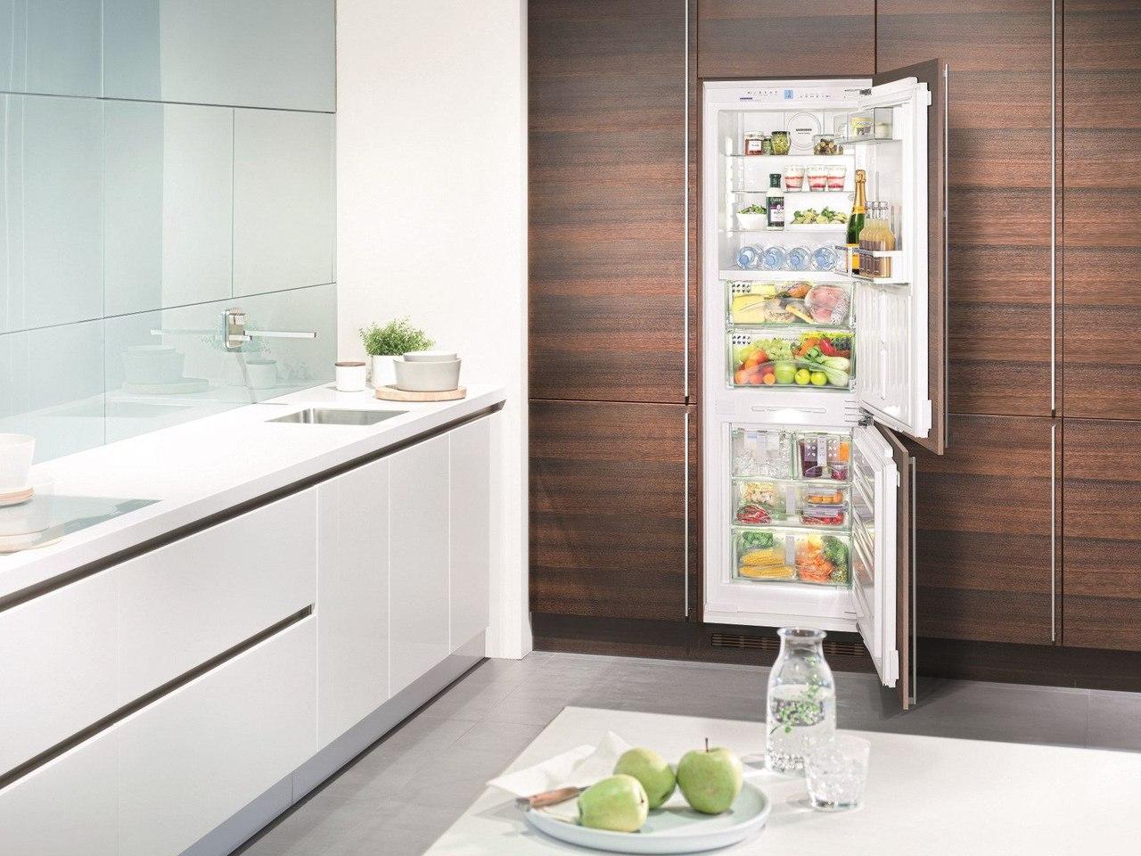 Vestfrost. Европейское имя, долговечность и комфортный быт - встраиваемый холодильник в интерьере