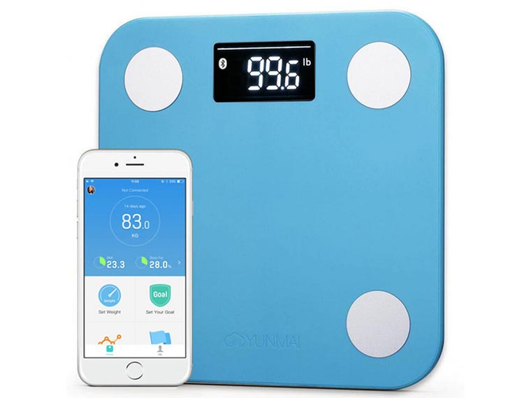 Весы напольные YUNMAI Mini Smart Scale Blue