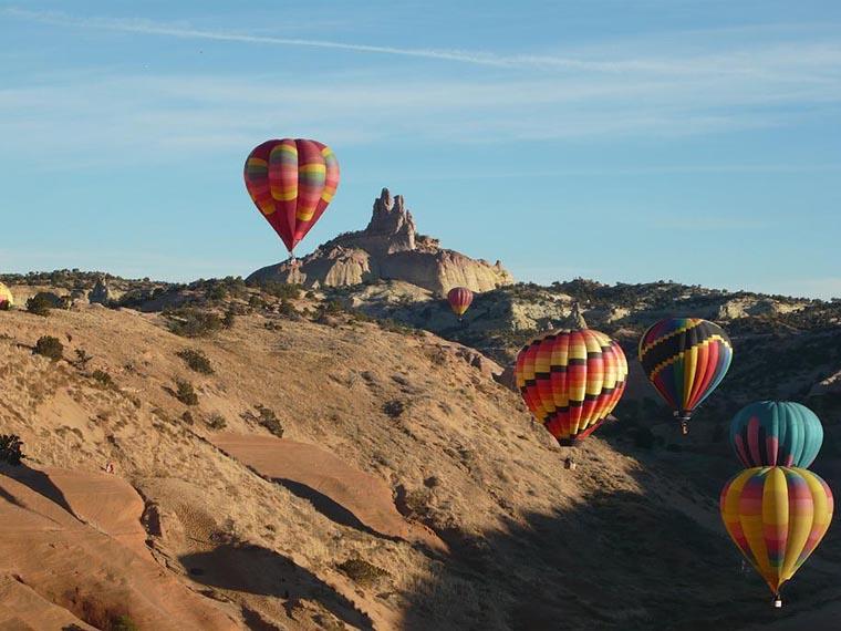 Воздушные шары в Черч Рок
