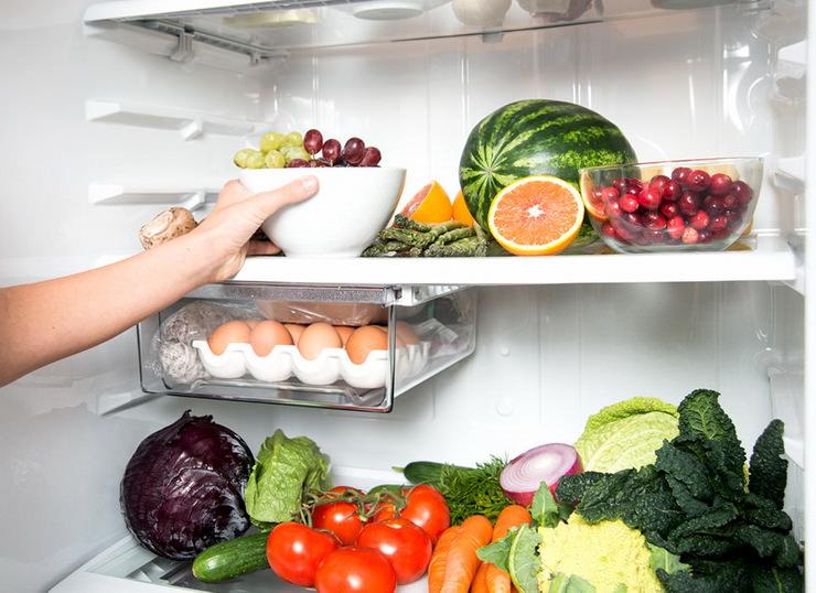 Выбираем холодильник до 5 000 грн - фрукты и овощи в холодильнике