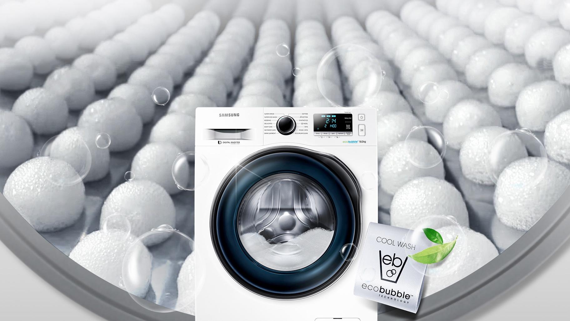 Выбираем стиральную машину до 10 000 - функция ecobubble