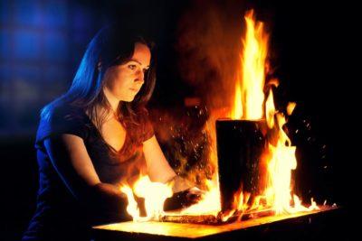 Когда ноутбук слишком горячий