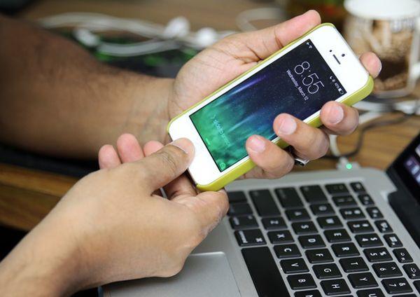 как перезагрузить айфон 5