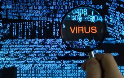 Цифровий вірус в коді
