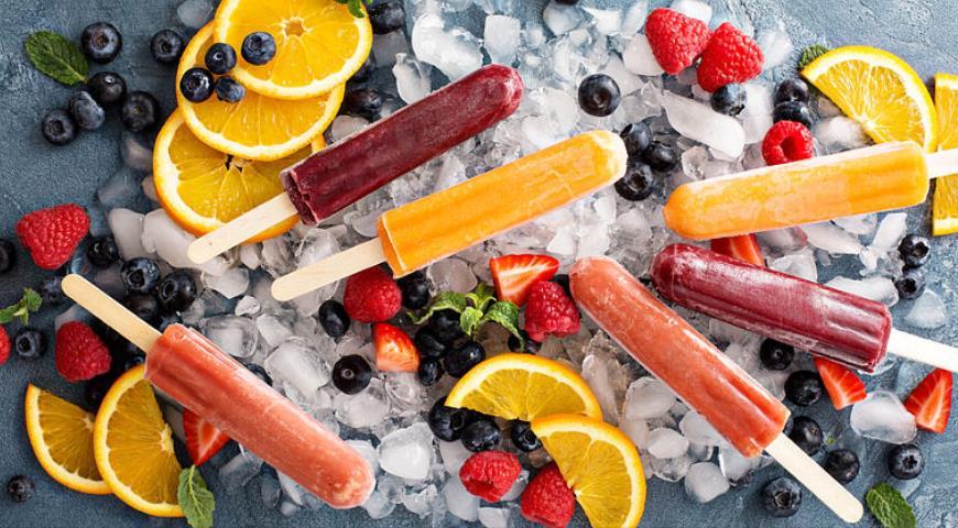 Ассорти-фруктовый лед