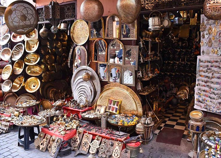 Базар в Марокко