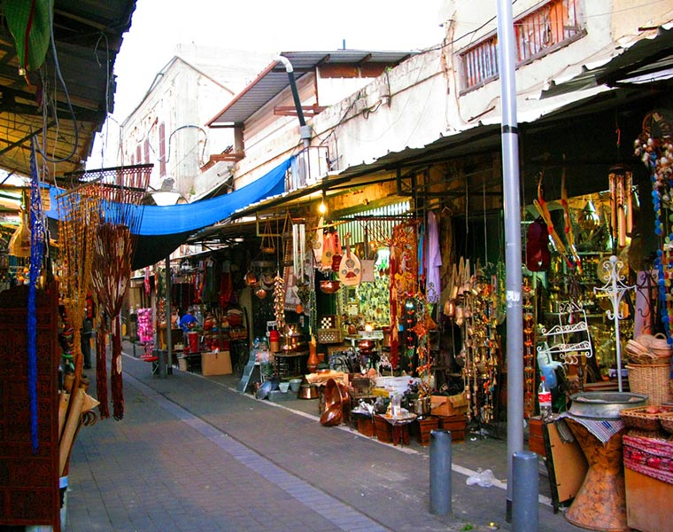 Блошиный рынок Шук-а-Пишпишим