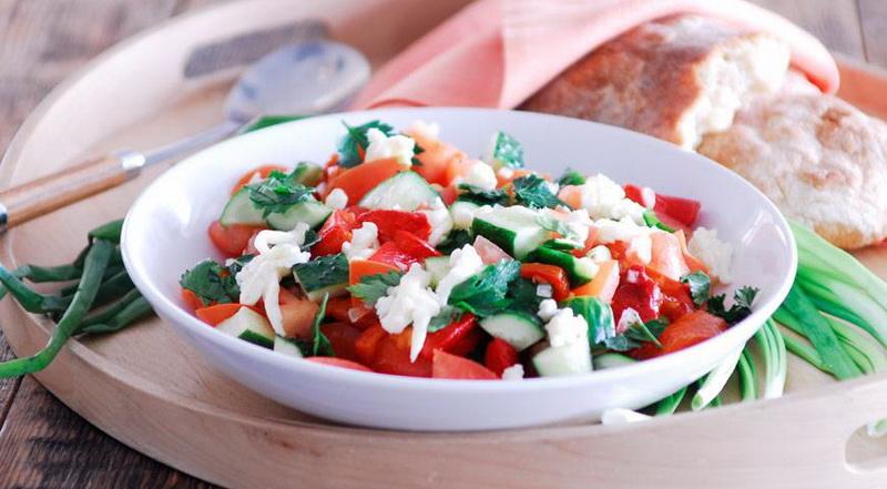 Болгарский салат-шопский