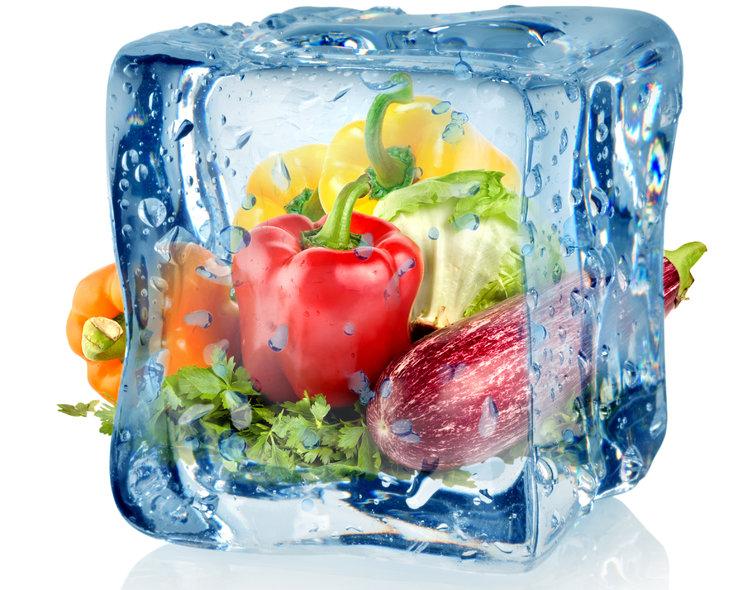 Что можно замораживать в морозильной камере и как это правильно делать - продукты во льду
