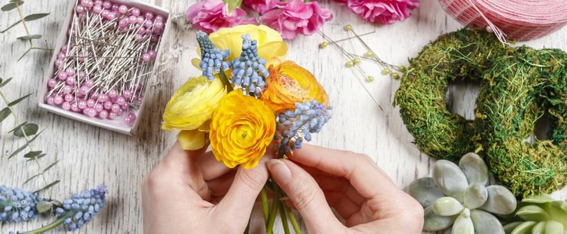 Флористика-как составить букет