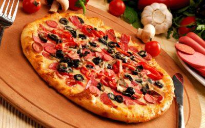 Піца в електродуховці