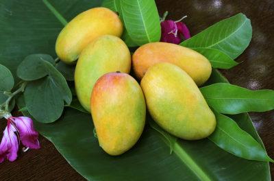 Как едят манго