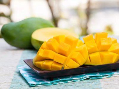 Как едят манго - 3