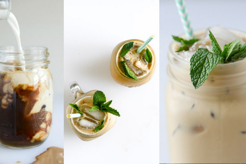 Fresh Mint Iced Coffee-photo 2
