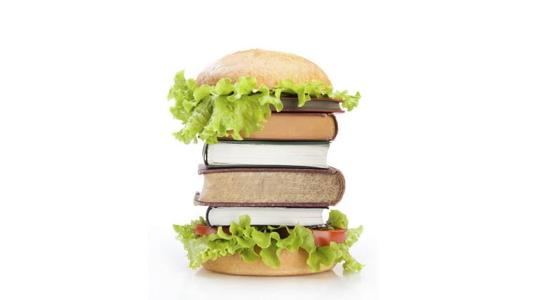 Гамбургер-из книг