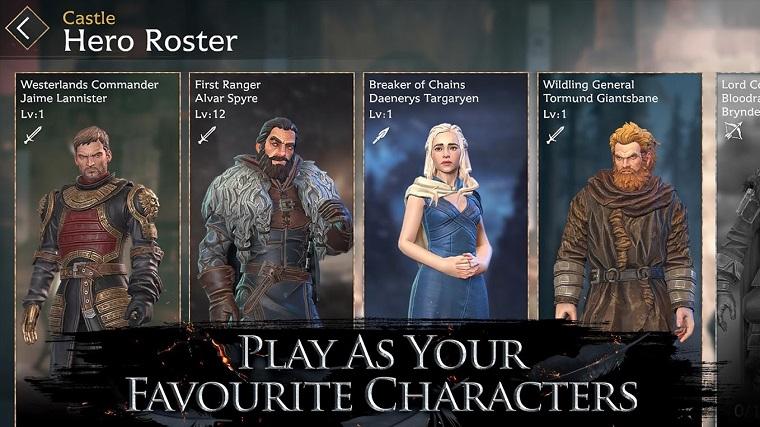 Игра престолов выходит на iOS и Android 4