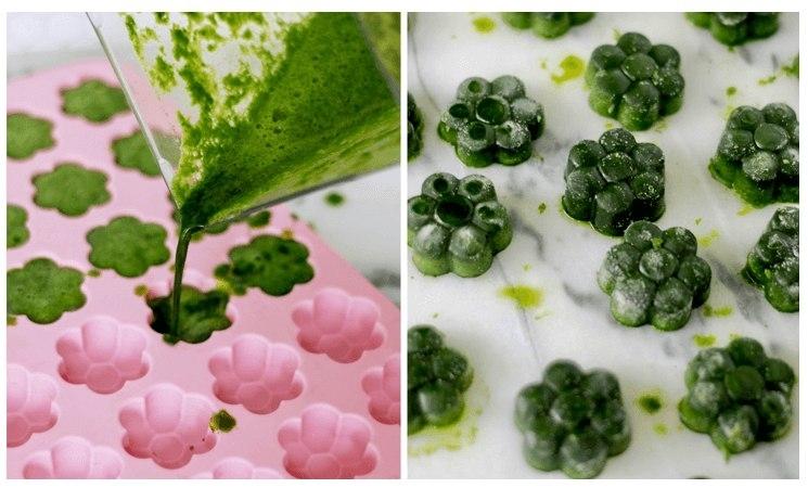 Ингредиенты для смузи-зеленый детокс