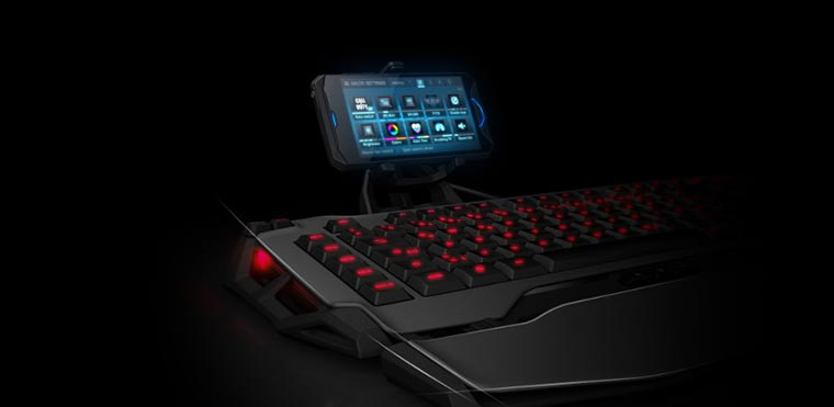 Клавиатура с дисплеем
