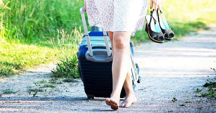 Колесики чемодана