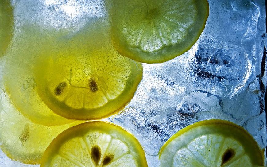 Лед-лимон