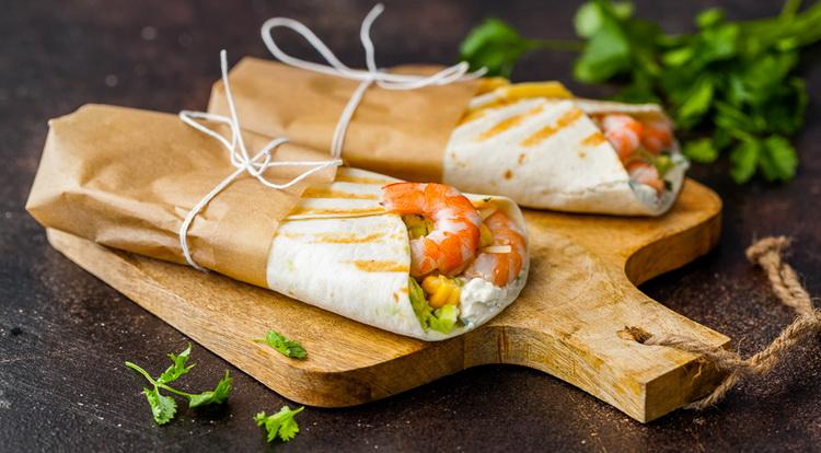 Мексиканский ролл-сэндвич