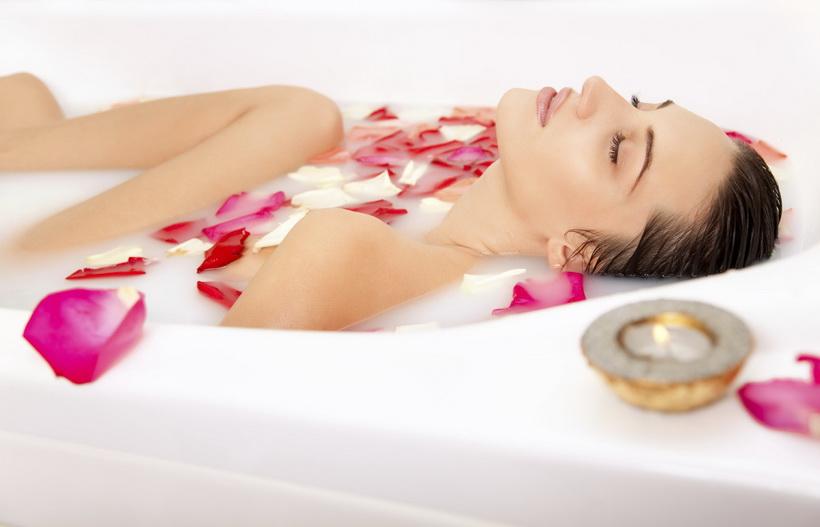 Молочная ванна-релакс от стресса