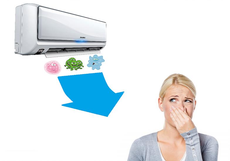 Проблемы при работе кондиционера - кондиционер плохо пахнет