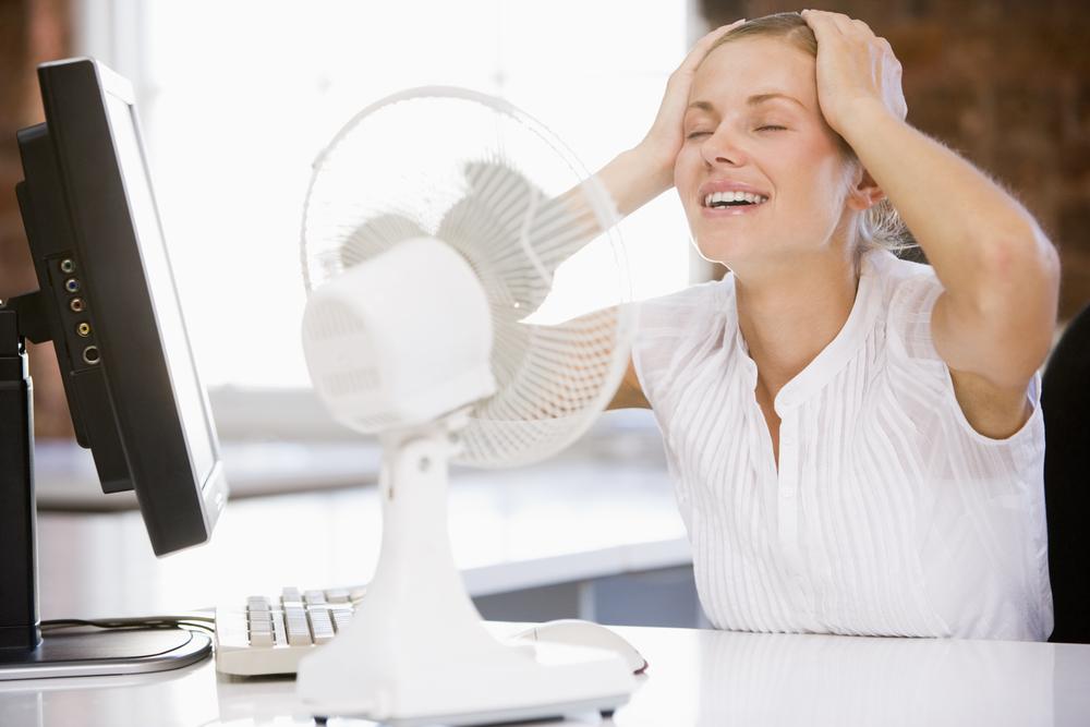 Проблемы при работе кондиционера - охлаждаемся под вентилятором