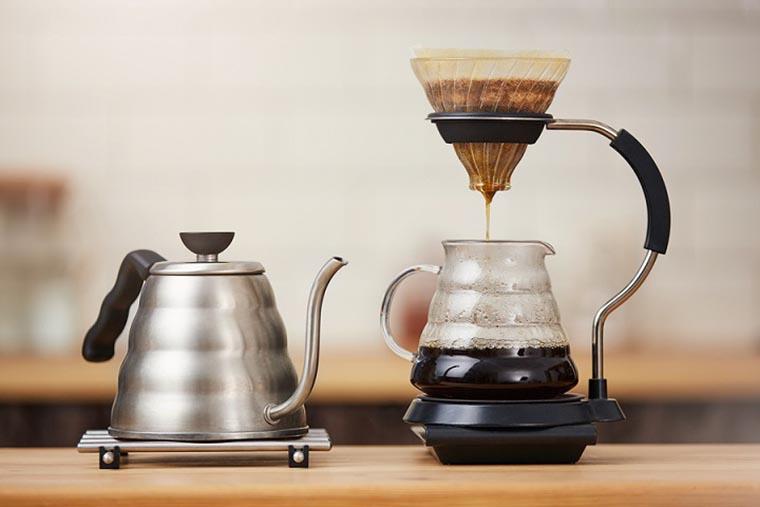 Простые механические кофеварки