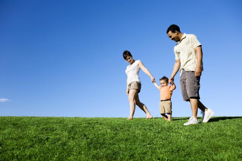 Семейный досуг-на природе