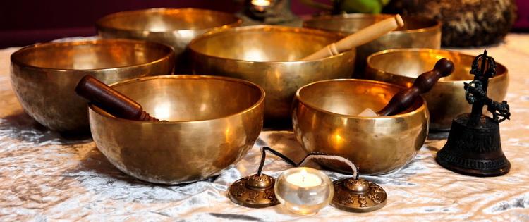 Тибетские чаши-поющие