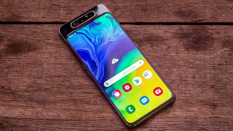 Топ-10 лучших смартфонов 2019_июль_- Samsung galaxy a80