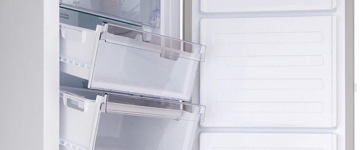 Топ-3 морозильные камеры до 12 000 гривен - морозильная камера Beko внутри