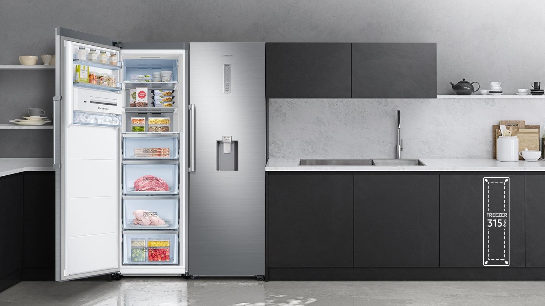 Топ-3 морозильные камеры до 12 000 гривен - морозильная камера возле холодильника