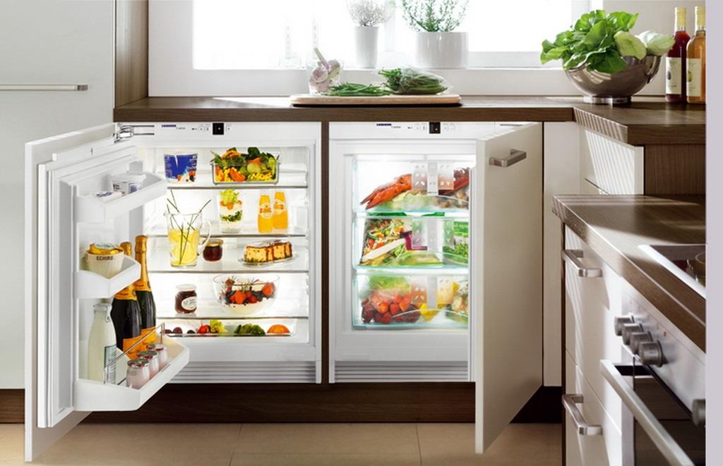 Топ-3 морозильные камеры до 7 000 гривен - морозильная камера в интерьере