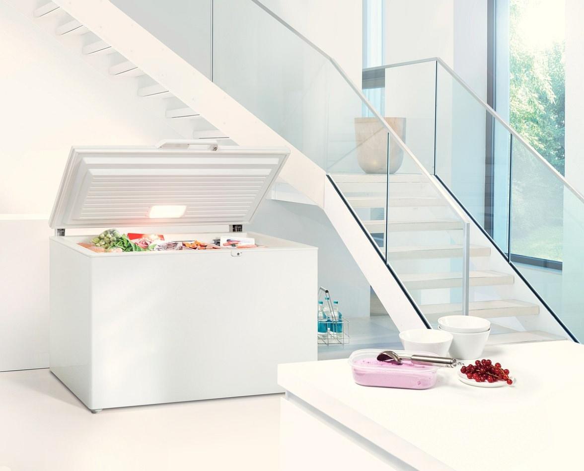 Топ-3 морозильные камеры до 7 000 гривен - морозильный ларь в интерьере
