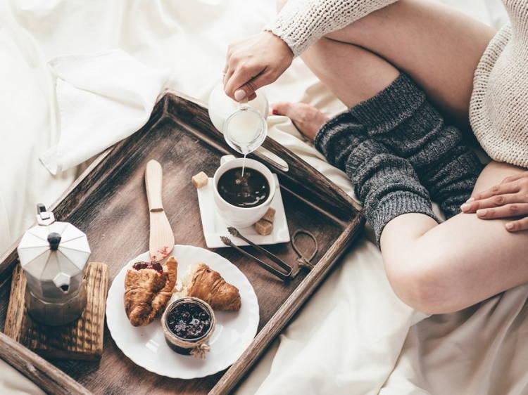 Утренние ритуалы-завтрак в постели