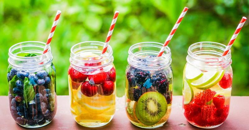 Вкусная вода-варианты