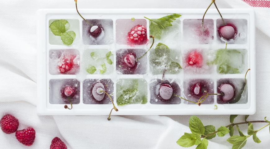 Ягоды-кубики льда