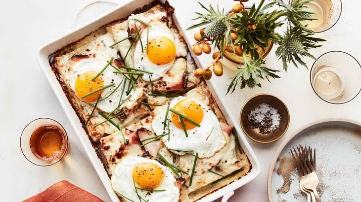 croque-madame-вкусный завтрак
