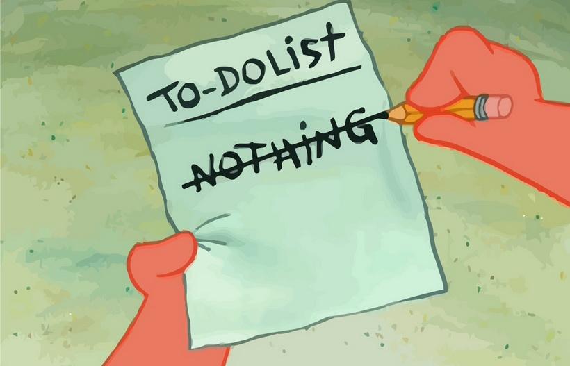 to-do list-как сократить летний подход