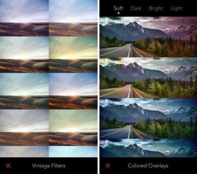 Пример хороших фильтров для фотографий