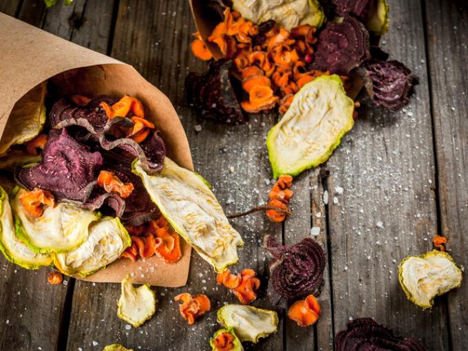 Чипсы из овощей-здоровый образ жизни
