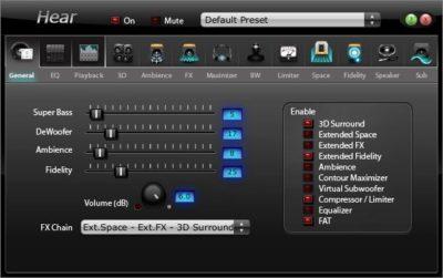 Програми для посилення звуку на ноутбуці