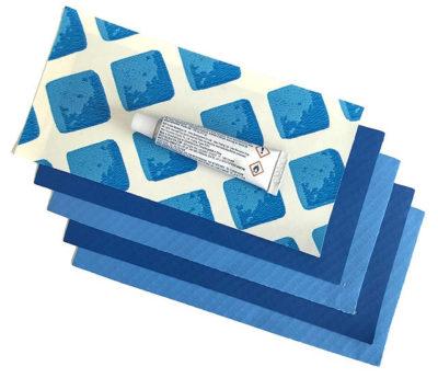 Как заклеить надувной матрас - 3
