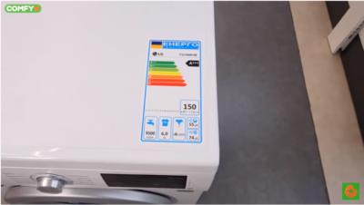 Габарити пральної машини LG F2J3NN1W