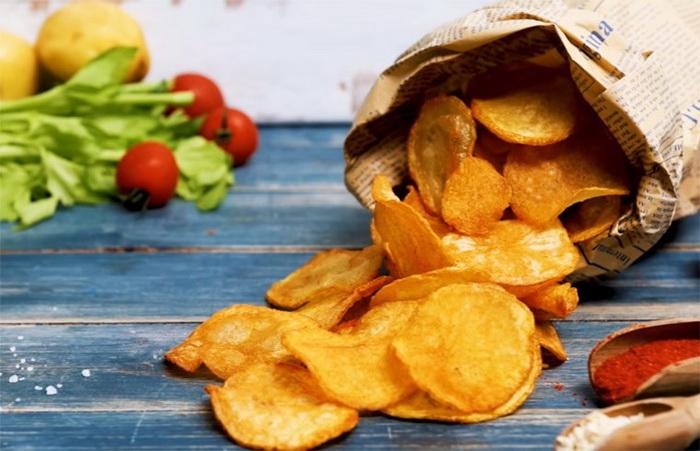 Хрустящие домашние чипсы-полезный рецепт