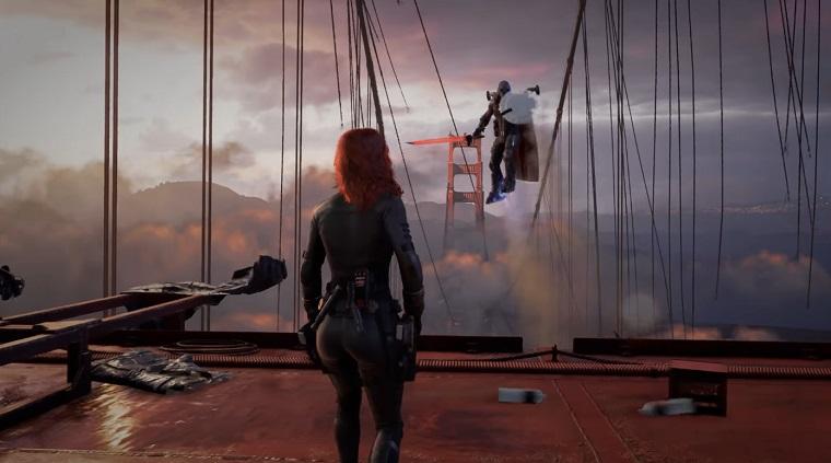 Игра Мстители готовится к выходу и показан геймплей 4