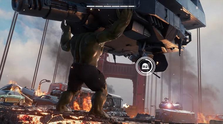 Игра Мстители готовится к выходу и показан геймплей 6а