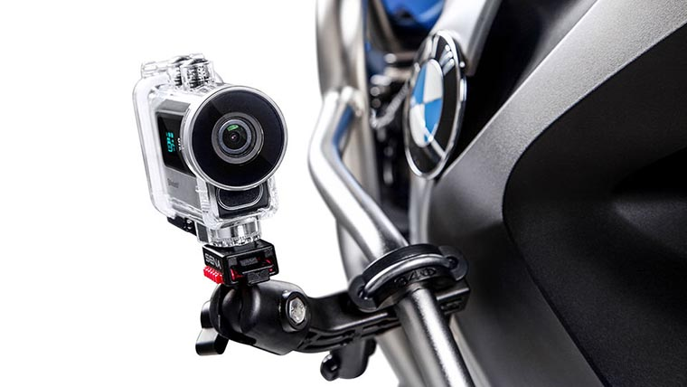 Камера на байке